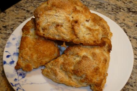buttermilk toffee scones 1 - tartine.JPG